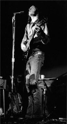 Neil Young with Crazy Horse, CA, 1970  © ROBERT ALTMAN