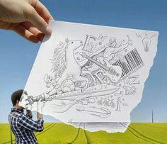 cartoon photography Pencil Camera, Camera Art, Pencil Art, Camera Drawing, Drawing Drawing, Camera Hacks, Camera Lens, Ipad Art, Photomontage