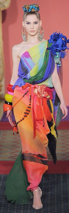 Christian Lacroix Spring 2009 Couture                                                                                                                                                                                 More
