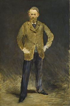 Edouard Manet - Portrait de Manet par lui même, dit aussi Manet à la calotte, 1878-1879 -  Tokyo-Paris Chefs-d'œuvre du Bridgestone Museum of Art, Collection Ishibashi Foundation - Musée de l'Orangerie, Paris - Jusqu'au 21/08/17
