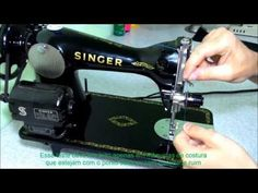 Nany Helena shared a video Janome, Sewing Hacks, Crochet Baby, Machine Embroidery, Quilts, Youtube, Sewing Machine Parts, Sewing Box, Sewing Tips