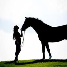 Horses can share incredible bonds with humans especially girls. They tend to think we are a bit gentler.