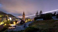 "Riccardo Blumer: ""Cathédrale"", 2011, Vercorin, Suisse. Photo : Robert Hofe"