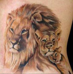 Tattoos Lions – lioness tattoos
