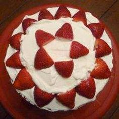 Thought I would share,  instructions for making Strawberry and Cream Cake