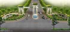Entrance Gate Designs For Township Entrance Gate Design For