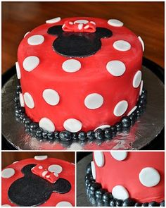 Simple Minnie cake