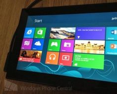 The first Nokia tablet equipped with quad-core processor and Windows RT appears in photos