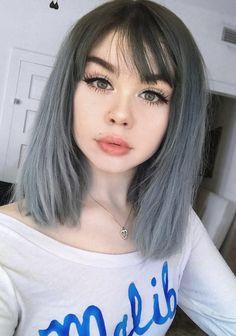 13 Grey Hair Color Ideas to Try - #haircolor #silverhair #greyhair #hairstyle
