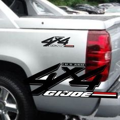 X X Badge Toyota Tacoma Truck Decals X  Things I Love - 4x4 truck decals