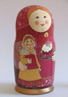 Matryoshka - Russian nesting doll.