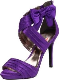 Purple Designer Heels