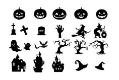 Halloween elements - Free Vector Site | Download Free Vector Art, Graphics