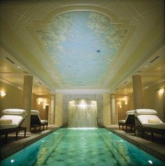 Kohler Waters Spa in Kohler, WI.  Best spa and hotel Jon and I have been to.  Highly recommend!