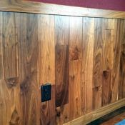 Custom tongue and groove wood paneling for walls and ceilings, tailored to the look & style you want. Pine paneling, cedar & many hardwood species. Half Walls, Tongue And Groove, Wooden Pallet Projects, Wood Scraps, Staining Wood, Tongue And Groove Panelling, Beadboard Wainscoting, Wood Wainscoting, Wainscoting