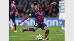Es waren die ersten Treffer des Barca-Neuzugangs in der Champions League