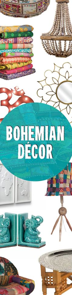 Bohemian Modern Home Designs | Shop Now at dotandbo.com
