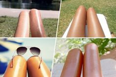 Hot dogs or legs selfie ?
