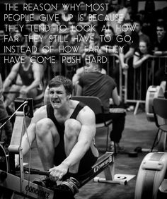 Rowing motivational poster I made xD.