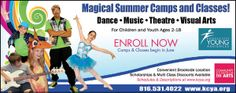 Enroll now in summer dance camps! www.ifamilykc.com