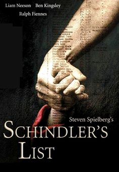Schindler's List is an American 1993 historical film directed by Steven Spielberg. It is a dramatized account of the true story of Oskar Schindler (Liam Nees. Movies Showing, Movies And Tv Shows, Schindlers Liste, Ralph Fiennes, Liam Neeson, The Expendables, Christopher Nolan, Steven Spielberg, Great Films