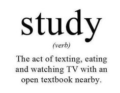Study Funny Picture