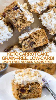 Best Gluten Free Desserts, Low Sugar Desserts, Gluten Free Cakes, Healthy Dessert Recipes, Easy Desserts, Delicious Desserts, Cake Recipes, Healthy Desserts, Healthy Eats