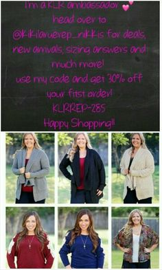 Use code KLRREP-285 for 30% off your first order! #newcustomers #newarrival #couponcode