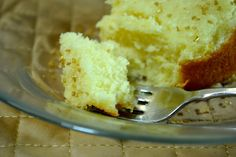 Chardonnay white bundt cake with chardonnay glaze