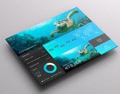 SJQHUB™ // Visual Data UI Dashboard