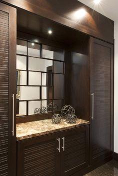 Residential Project by Adriana Hoyos - Perezalaya #bathroom #interiordesign #hoyos
