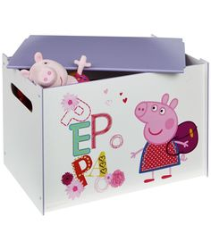 Buy Peppa Pig Toy Box at Argos.co.uk - Your Online Shop for Storage chests and toy boxes, Children's toy boxes and storage, Children's furniture, Limited stock Home and garden.