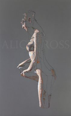 Alicia Ross — Fastener 42 h x 26 w in fiber 2016 Thread Painting, Figure Painting, Figure Drawing, Painting & Drawing, Art Sketches, Art Drawings, Anatomy Art, Textile Artists, Embroidery Art
