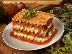 can you really get lasagna to look that perfect on a plate??