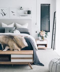 Ugh enough enough enough with all this rain and snow. I think its time to take a day off in this beautiful bedroom. - Architecture and Home Decor - Bedroom - Bathroom - Kitchen And Living Room Interior Design Decorating Ideas - Dream Bedroom, Home Bedroom, Bedroom Decor, Bedroom Ideas, Bedroom Designs, Bedroom Inspo, Budget Bedroom, Bedroom Furniture, Bedroom Interiors