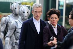 Doctor Who films in Cardiff city centre as the Cybermen take over