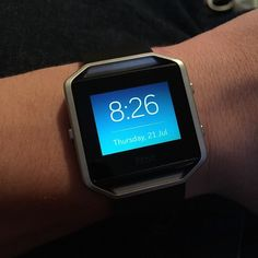 My new watch is pretty cool #Fitbit #fitbitblaze via Instagram http://ift.tt/2ayqsM4