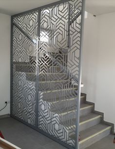 Metal Plus Design - Egyedi lézervágott panelek Verona, Divider, Stairs, Metal, Interior, Room, Furniture, Design, Home Decor