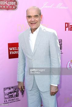"""Robert Picardo attends opening night of """"Real Women Have Curves"""" at the Pasadena Playhouse on September 2015 in Pasadena, California. Robert Picardo, Pasadena Playhouse, Opening Night, Real Women, Star Trek, Curves, October, Blazer, Mens Tops"""