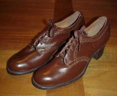 0e58978471242 78 Best 1940s Womens WWII Service Shoes images in 2018 | 1940s ...