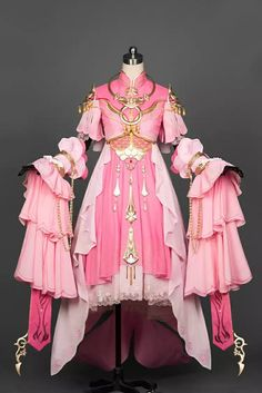 Alexander Grassner Große 46 Kawaii Fashion, Lolita Fashion, Pretty Dresses, Beautiful Dresses, Fantasy Gowns, Anime Dress, Japanese Outfits, Kawaii Clothes, Cosplay Outfits