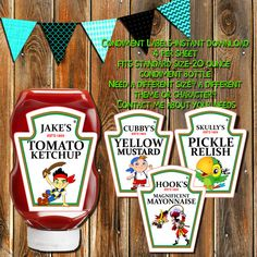 Sale-JAKE and the NEVERLAND PIRATES por MyPrintablePartyLine