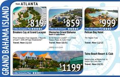 Here is a Great Getaway Deal from Atlanta with Vacation Express