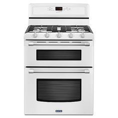 charming ideas double ovens lowes. Shop Maytag Gemini Smooth Surface ft  Double Oven Single Fan Electric Range at Lowe s Canada Find our selection of ranges the lowest price How did I survive without my Gas