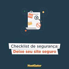 A segurança do site deve ser tratada com prioridade e atenção, confira o checklist com 8 dicas para manter seu site seguro