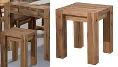 Tabouret NORWAY as bedside table