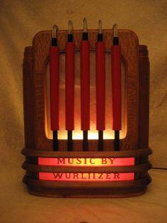 Illuminated Wurlitzer 250 remote wall speaker .. WANT!!!