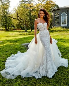 Eve of Milady Couture - Bridal Reflections Eve Of Milady Wedding Dresses, Dream Wedding Dresses, Bridal Dresses, Flower Girl Dresses, Gorgeous Wedding Dress, Wedding Dress Styles, Couture Wedding Gowns, Bridal And Formal, Couture Fashion