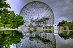 Montreal, Canada - the Biodome and putting poutine in my belly.