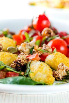 The classic flavours of a Caprese salad get all adventurous in  Mein Blog: Alles rund um die Themen Genuss & Geschmack  Kochen Backen Braten Vorspeisen Hauptgerichte und Desserts
